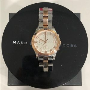 Marc by Marc Jacobs Women's Rose Gold/Silver Watch